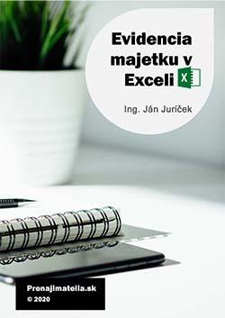 Evidencia majetku v Exceli